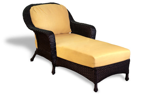 SEA PINES CHAISE LOUNGERS-TORTOISE