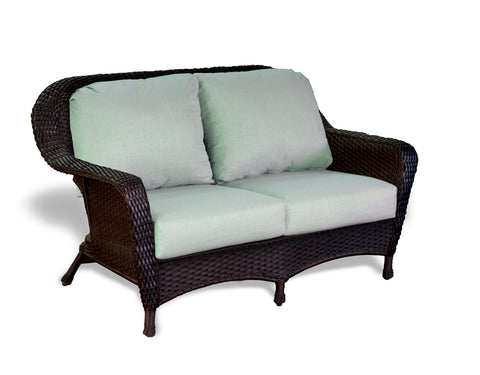 SEA PINES LOVESEATS-TORTOISE