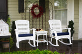 PLANTATION ROCKING CHAIRS – WHITE