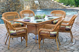 PORTSIDE 7 PIECE DINING SETS-SOUTHWEST AMBER