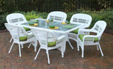 PORTSIDE 7 PIECE DINING SETS-COASTAL WHITE