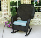 SEA PINES SINGLE ROCKER-TORTOISE WICKER