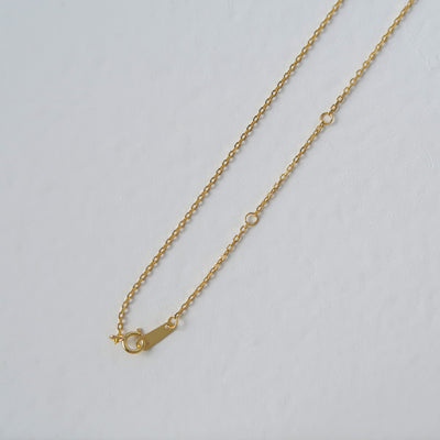 WILDER Gold Filled Leaf Pendant Necklace
