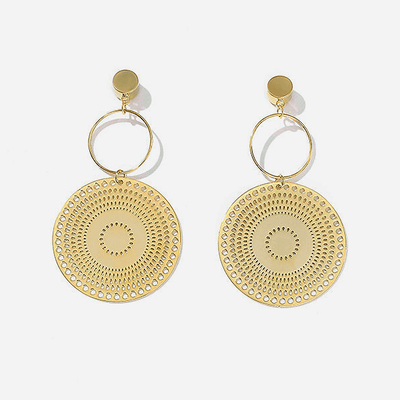 J.Bubs Earrings ALICE 14k Gold Plated Sun Earrings