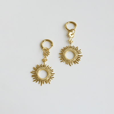 J.Bubs Earrings APOLLO 18k Gold Plated 925 Sunburst Earrings