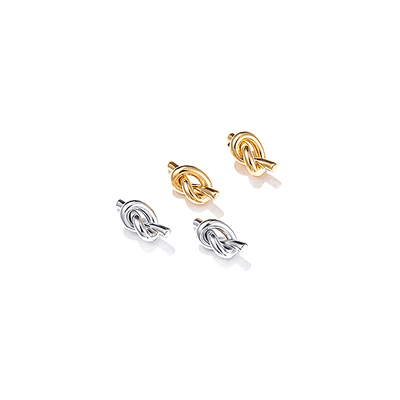 J.Bubs Earrings CATH Knotted Stud Earrings