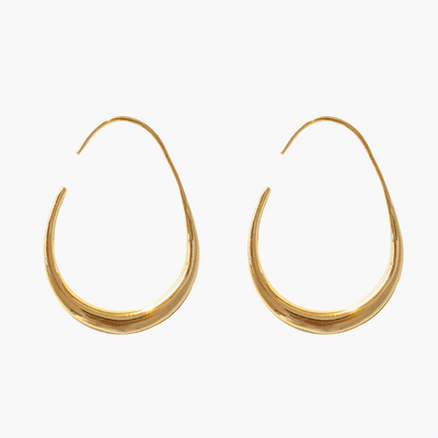 J.Bubs Earrings ELIANA 14k Gold Plated Moon Earrings