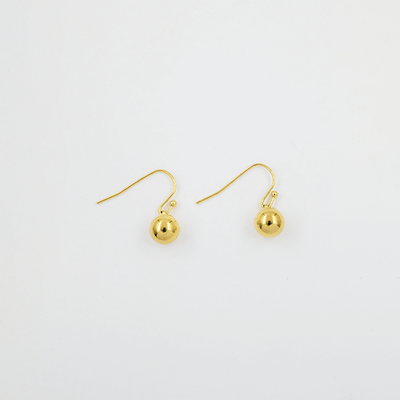 J.Bubs Earrings ERIN Gold Ball Drop Earrings
