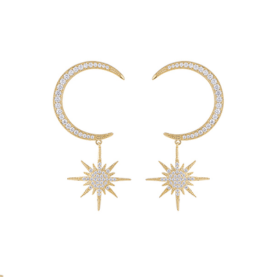 J.Bubs Earrings FAY Constellation Drop Earrings