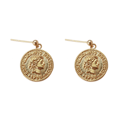 J.Bubs Earrings KORYN Coin Earrings