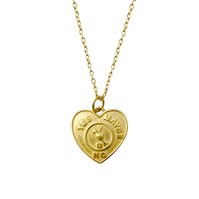 J.Bubs Necklaces FONDA 18k Gold Plated 925 Love Necklace