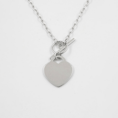 J.Bubs Necklaces KENNEDY Sterling Silver Heart Necklace
