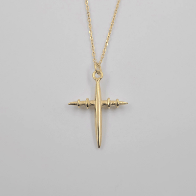 J.Bubs Necklaces LAYLA 18k Gold Plated 925 Aviation Necklace