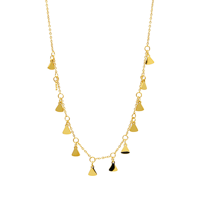J.Bubs Necklaces RACHAEL 14k Gold Plated Tribal Necklace