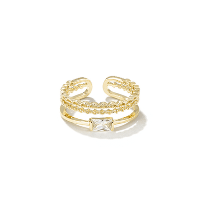 J.Bubs Rings ARIELLE 14k Gold Plated Delicate Ring