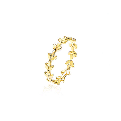 J.Bubs Rings CLARIS 14k Gold Plated Roman Ring