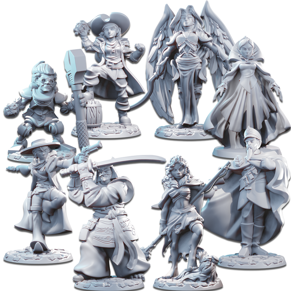 Miniatures - Season Two Unpainted