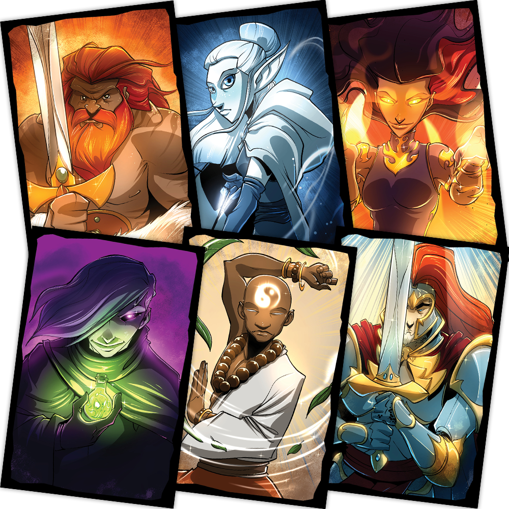 Card Sleeves - Season One (6 heroes)