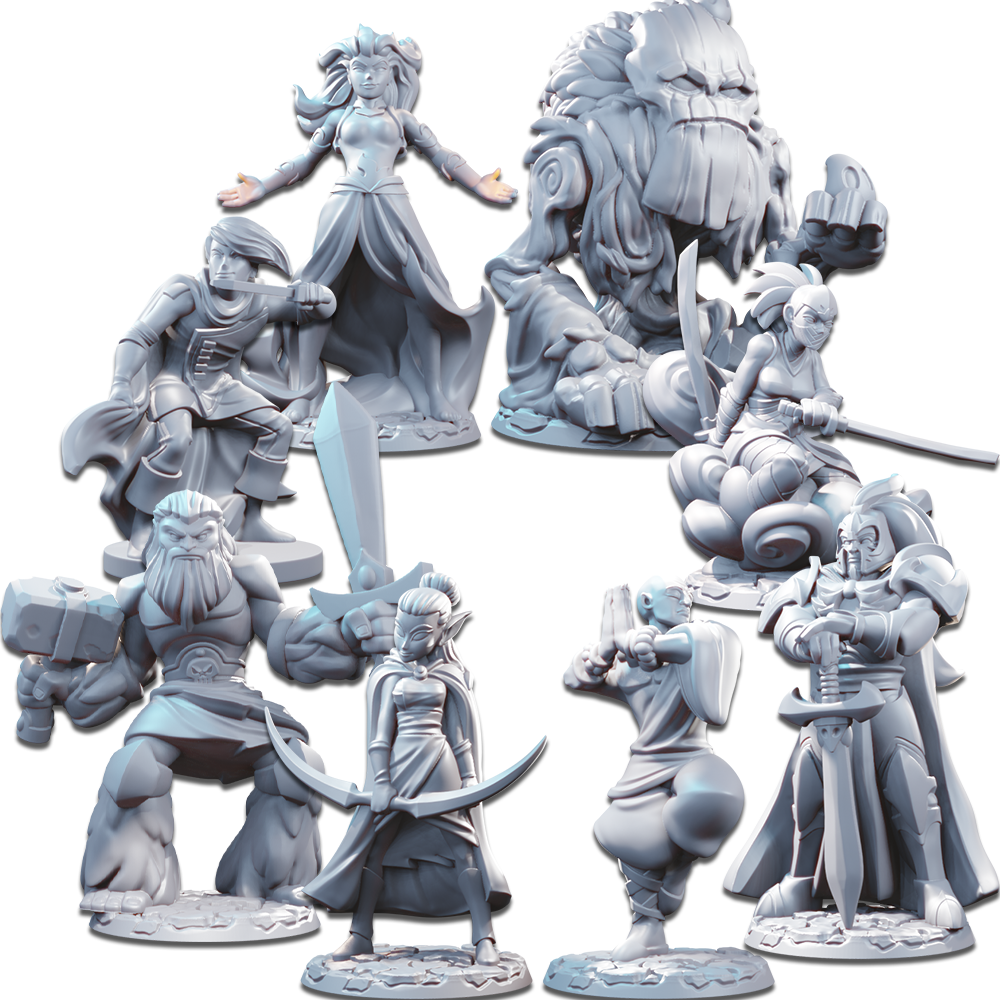Miniatures - Season One Unpainted