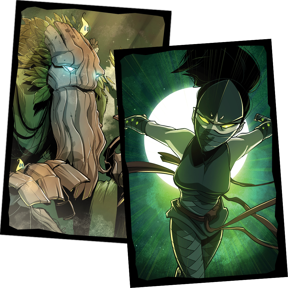 Card Sleeves - Season One (Treant/Ninja)