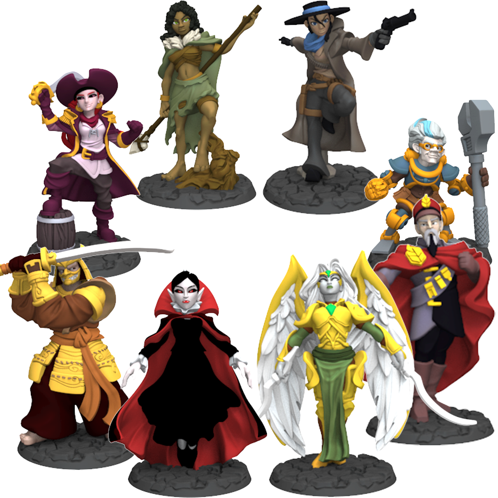 Miniatures - Season Two Painted