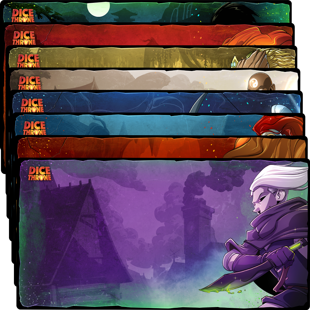 Playmats - Season One Heroes
