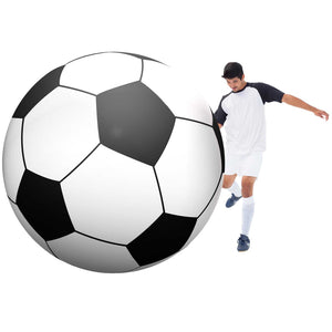 GoFloats Giant Inflatable Soccerball - 6 Feet Tall