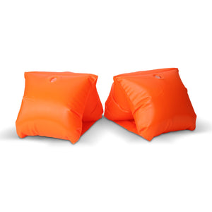 GoFloats Safety Orange Adult Water Wing Floaties (Novelty USE ONLY)
