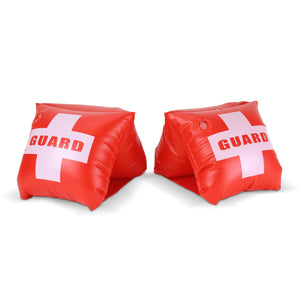 GoFloats Lifeguard Adult Water Wing Floaties (Novelty USE ONLY)