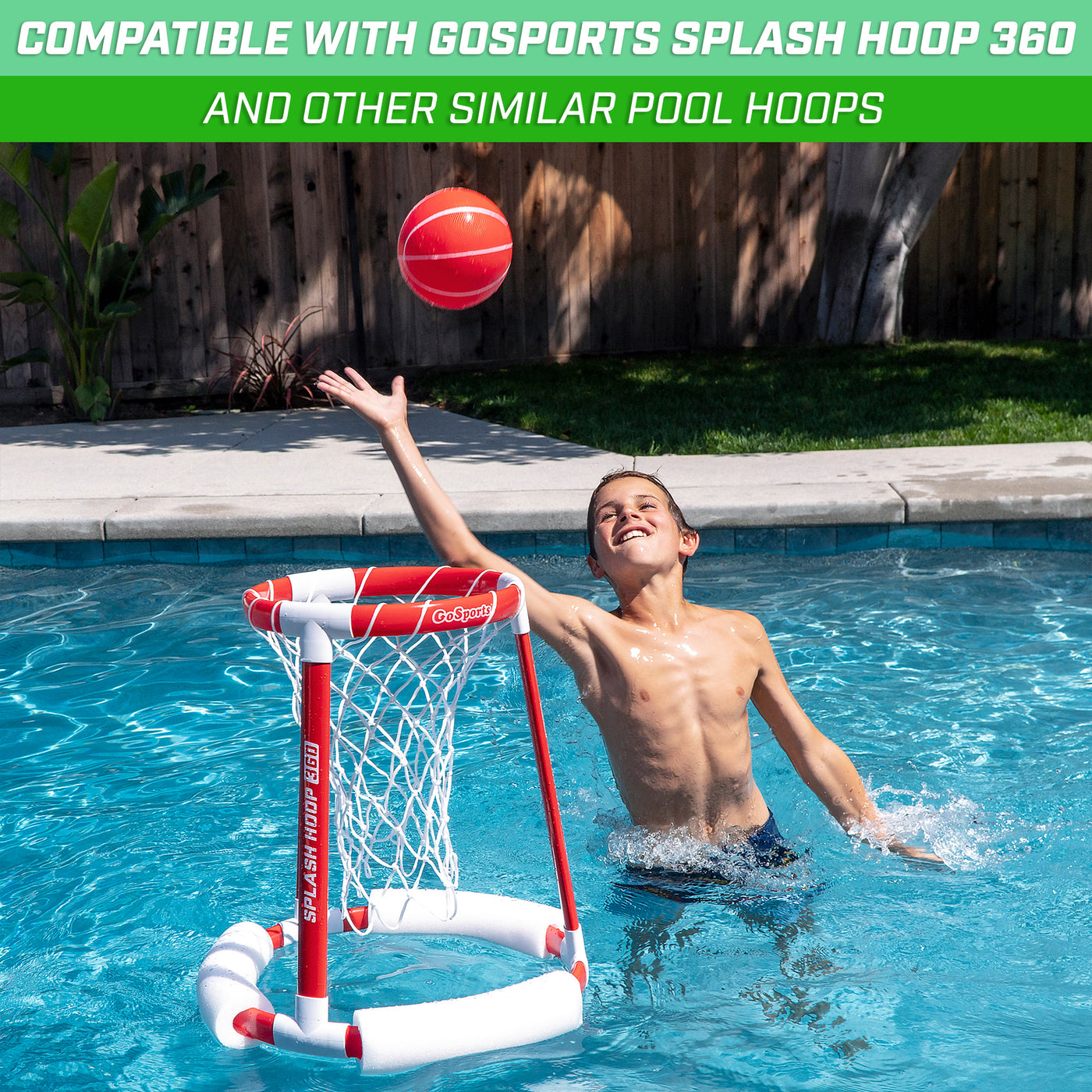 GoSports Water Volleyball 3 PackGreat for Pool and Lawn Volleyball Games