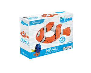 Disney Pixar Finding Nemo - Nemo Pool Float Party Tube by GoFloats - Inflatable Raft for Adults and Kids