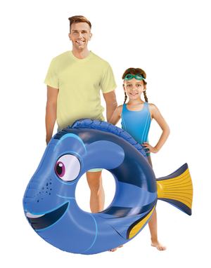 Disney Pixar Finding Nemo - Dory Pool Float Party Tube by GoFloats - Inflatable Raft for Adults and Kids