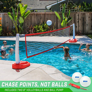 Copy of GoSports Splash Net PRO Pool Volleyball Net | Includes 2 Water Volleyballs and Pump