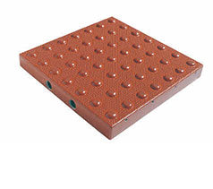 TDD-ATC-11 Truncated Domes Cast-in-Place Replaceable Tiles - 1' x 1' - Colonial Red