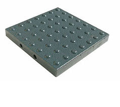 TDD-ATC-25 Truncated Domes Cast-in-Place Replaceable Tiles - 2' x 5' - Dark Gray