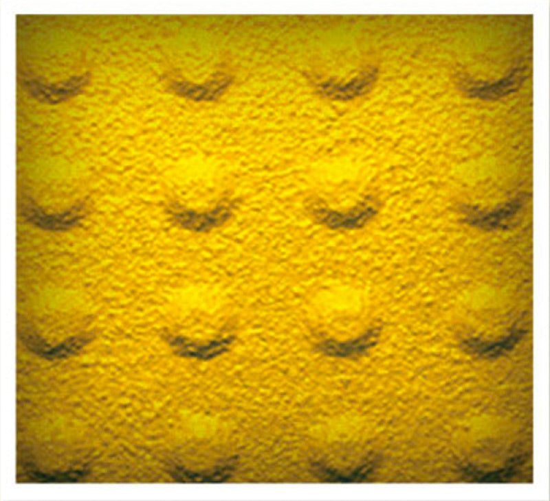 TDD-SSP-35 Self-Adhesive Truncated Domes - Yellow