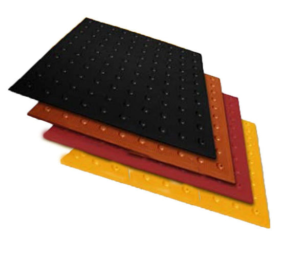 TDD-UT-25 Truncated Domes - Flexible Urethane ADA Pads - 2' x 5' - Color samples
