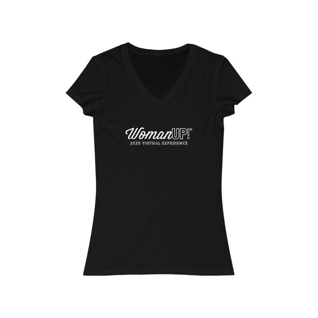 WomanUP!® 2020 Short Sleeve V-Neck Tee