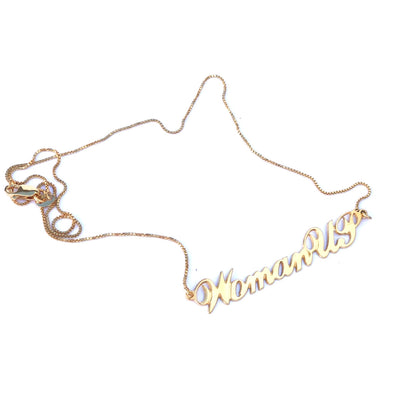 18k gold necklace WomanUP! script