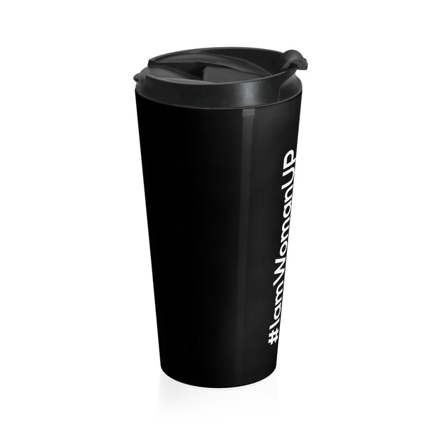 WomanUP!® Stainless Steel Travel Mug