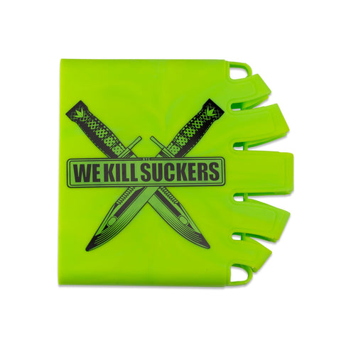 Bunkerkings - Knuckle Butt Tank Cover - WKS Knife - Green