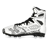 HK Army Diggerz_X1 Hightop Cleats - White/Black