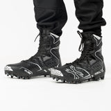 HK Army Diggerz_X1 Hightop Cleats - Black/Grey