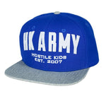 HK Army Caps - Blue Grey