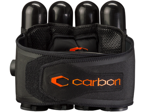 Carbon SC Harness 4 + 5 - Black