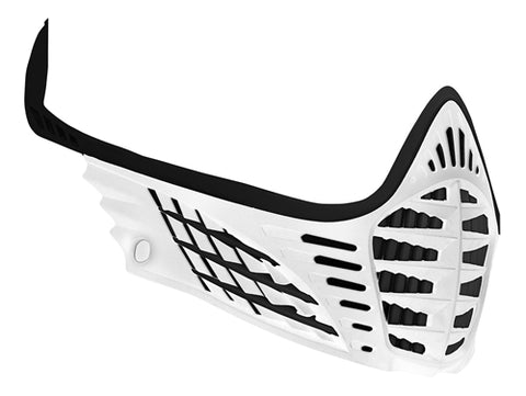 Virtue VIO Facemask - Black/Black/White