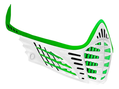 Virtue VIO Facemask - Lime/Lime/White