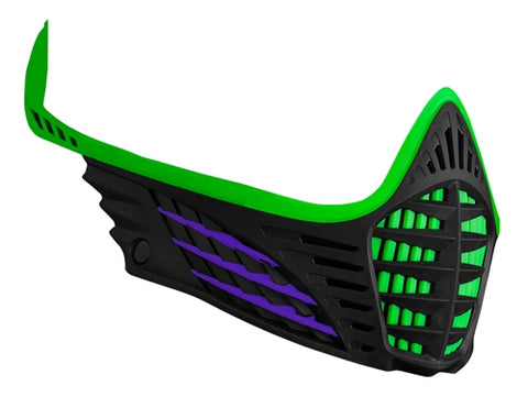 Virtue VIO Facemask - Lime/Purple/Black