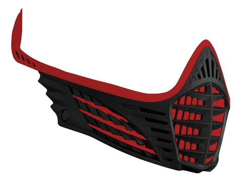 Virtue VIO Facemask - Red/Red/Black