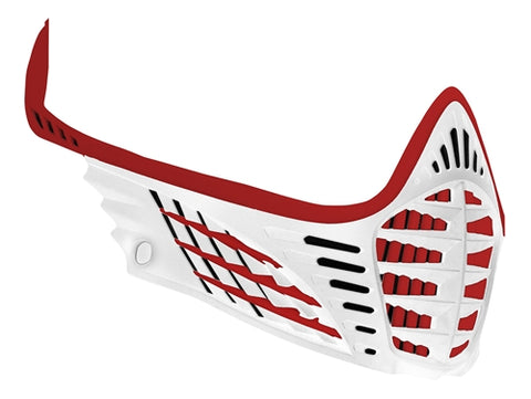 Virtue VIO Facemask - Red/Red/White